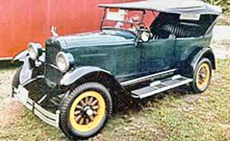 Photo of 1923 MAXWELL TOURING SHOW WINNER