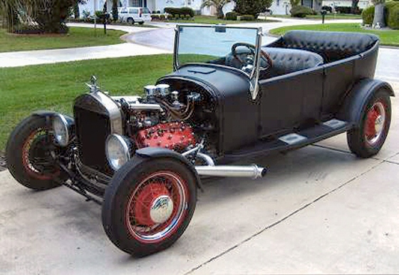 Photo of 1926 FORD MODEL T ALL STEEL PHAETON HOT ROD