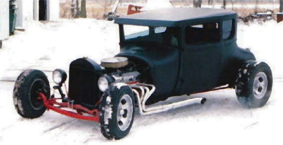 1926 Ford T-Coupe