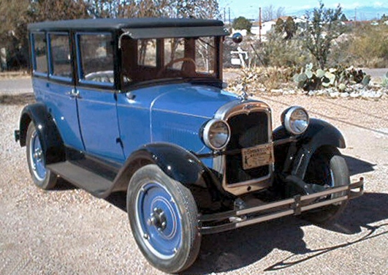 Photo of 1927 Chevrolet Four Door Sedan  Older Restoration