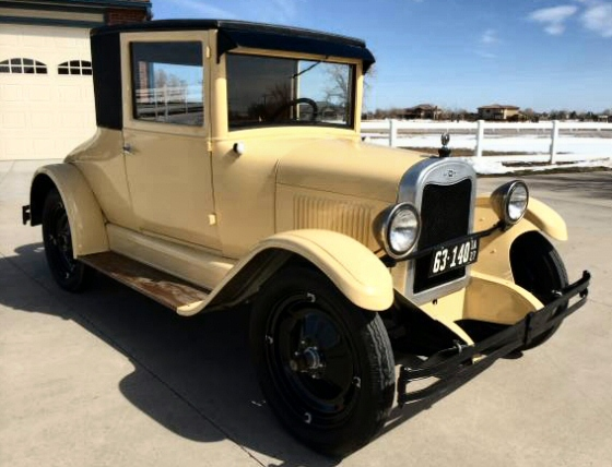 Photo of 1927 Chevy Coupe Restored