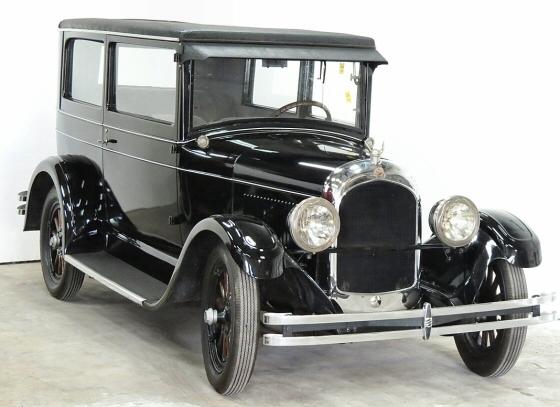 1927 Chrysler Model 50 2 Door Sedan