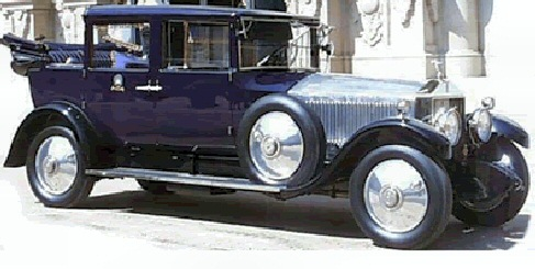 1927 Rolls Royce Limousine Landaulet
