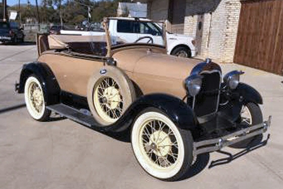 Photo of 1928 AR Ford Model A Roadster With Rumble Seat