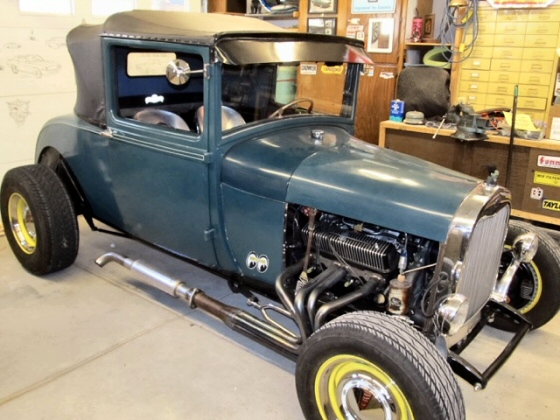 Photo of 1928 Ford AR Sport Coupe Steel Hotrod