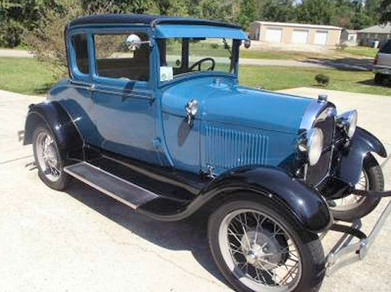 Photo of 1928 Ford Model A Special Coupe Recent Restoration