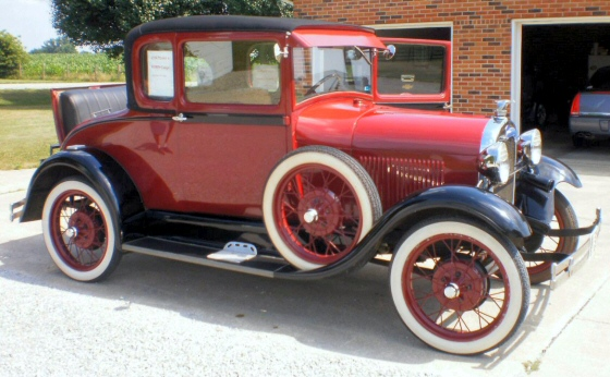 Photo of 1928 FORD MODEL A RARE SPORT COUPE OLDER RESTORATION