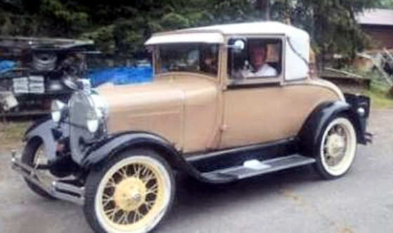 Photo of 1928 Ford Model A Sports Coupe All Rebuilt