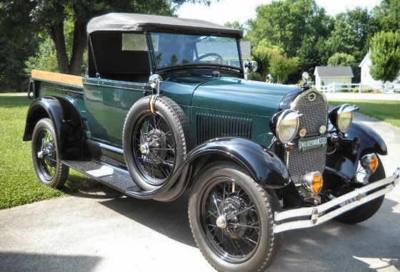Photo of 1928 Ford  Rare 2 DR AR Roadster Pickup Restored All Original