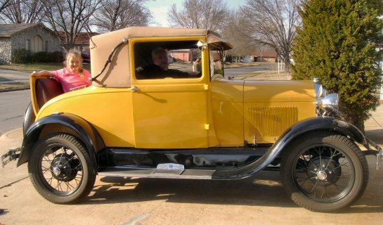 1928 Model A Sports Coupe