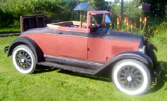 1928 Willys Cabriolet - Rumble Seat Convertible