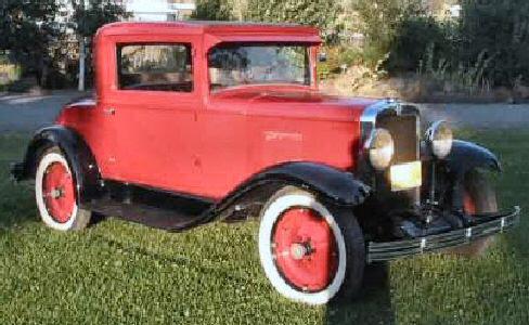1929 Chevrolet 2 Door 3 Window