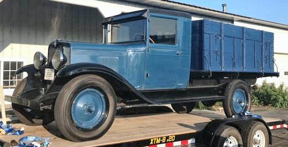 1929 chev truck