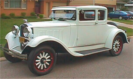 1929 dodge brothers coupe 5 window
