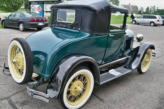 Photo of 1929 Ford 2DR Coupe