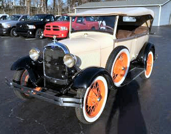 Photo of 1929 FORD PHAETON 4 DR CONVERTIBLE RARE