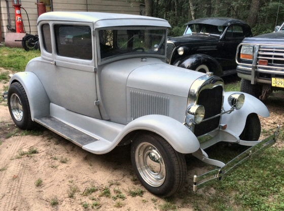 1929 ford 5 window coupe steel street rod for 1929 ford 5 window coupe