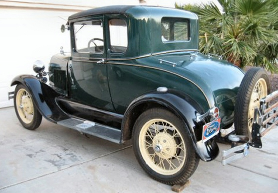 Photo of 1929 Ford 5 Window Coupe