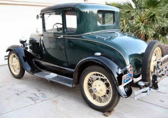 Photo of 1929 FORD MODEL A COUPE ALL STOCK