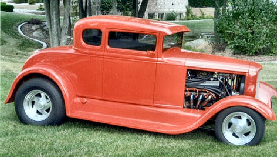 1929 CHOPPED FORD COUPE