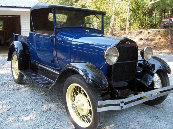 Photo of 1929 Ford Half Ton Pickup Roadster Restored