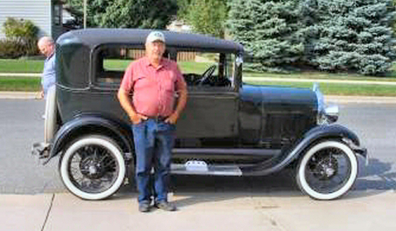 Photo of  1929 Ford Model A 2DR With Only 33,200 Miles Since New