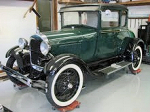Photo of 1929 Ford 2 DR Coupe With 4 Speed Transmission