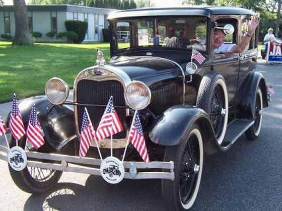 Photo of 1929 Ford Model A 4 Door Murray Town Car  Very Authentic