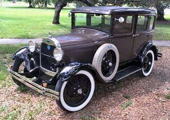 Photo of  1929 FORD MODEL A 4 DOOR SEDAN WITH ICE COLD A/C