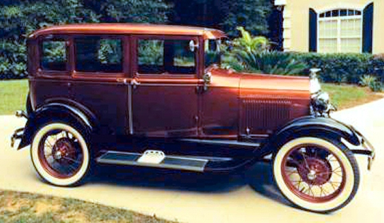 Photo of 1929 Ford Model A 4 DR Sedan Completely Restored