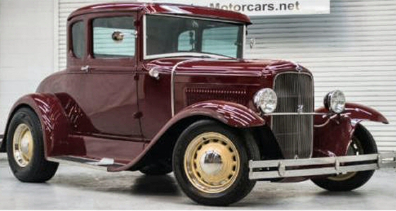 Photo of 1929 Model A Deluxe Coupe Custom Hot Rod