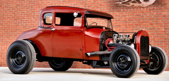 Photo of 1929 Ford Model A Hot Rod  Coupe  Original Barn Find