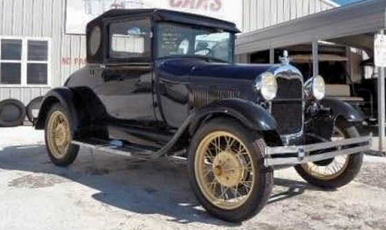 Photo of 1929 Ford Model A Sport Coupe Restored