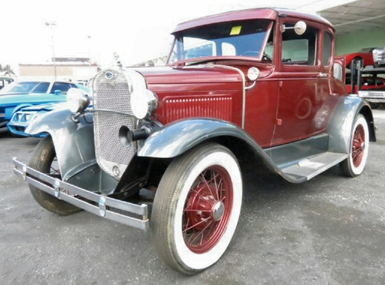 Photo of 1929 Ford Model A Coupe With Rumble Seat