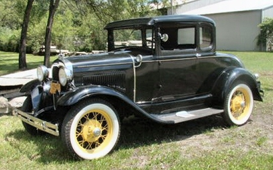 Photo of 1929 Ford Model A Coupe