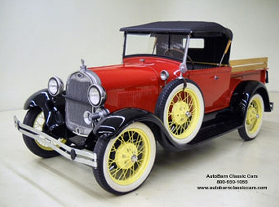 1929 Ford Model A Pick-Up Roadster