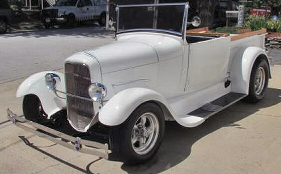 1929 Ford Model A Roadster Pickup Street Rod