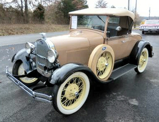 Photo of 1929 FORD MODEL A ROADSTER RESTOREED STOCK