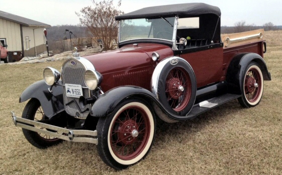 Photo of 1929 FORD MODEL A ROADSTER PICKUP RARE RESTORED ORIGINAL