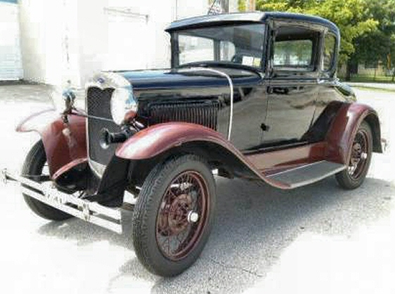 Photo of 1929  Model A Ford Special Coupe Completely Restored