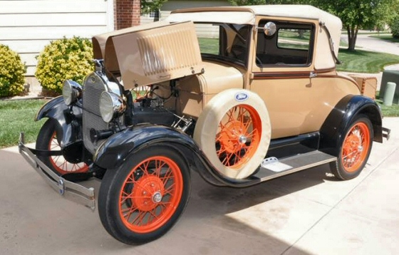 Photo of 1929 Ford Model A Sport Coupe 50A Restored