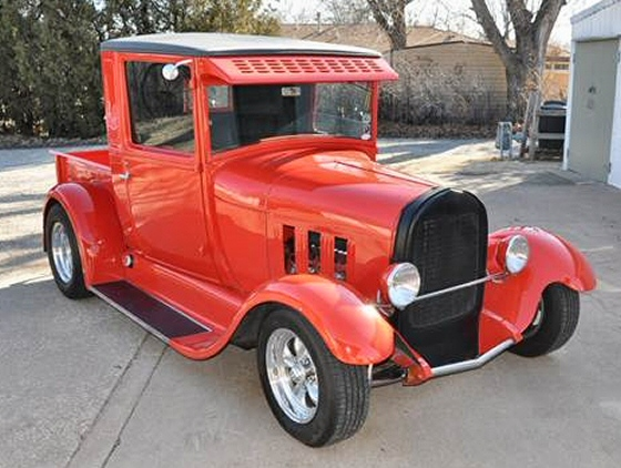 Photo of 1929 Ford Model A Street Rod All Steel Pickup