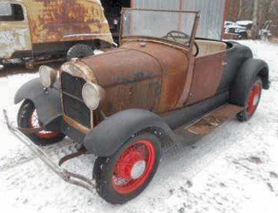 Photo of 1929 FORD ROADSTER PROJECT