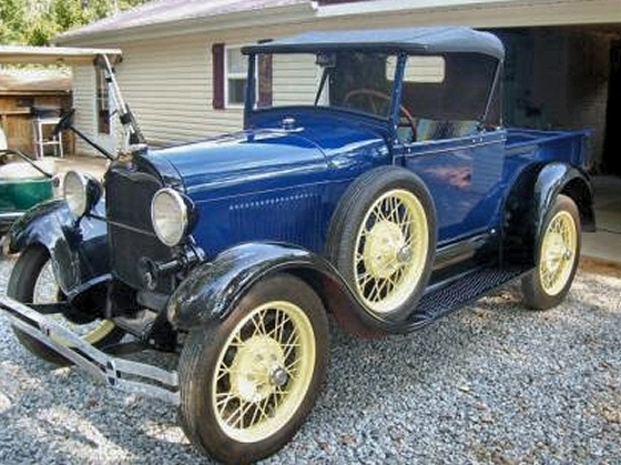Photo of  Professionally Restored 1929 Ford Roadster Pickup