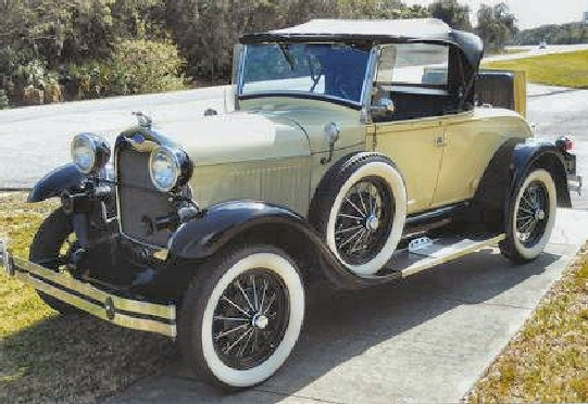 1929 Ford Model A Roadster Shay Replica