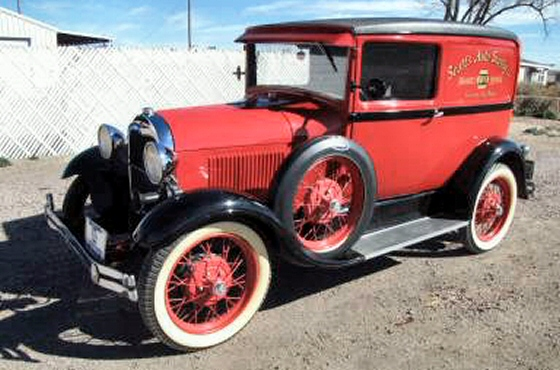 Photo of 1929 FORD MODEL A SEDAN DELIVERY RESTORED STOCK