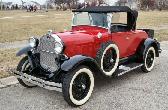 Photo of  1929 Ford  Model A  Roadster Shay Replica  TITLED AS A 1981 SHAY