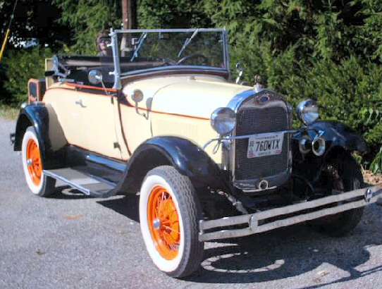 1929 Shay Ford Model A