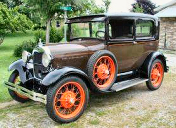 Photo of 1929 FORD TUDOR  RESTORED STOCK