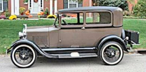 Photo of 1929 FORD TUDOR SEDAN